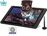 HUION Kamvas Pro 13 Tableta Gráfica con Pantalla, Monitor de Dibujo Gráfico de 13,3 Pulgadas con Pantalla Antideslumbrante Completamente Laminada, 120% sRGB, Inclinación de ± 60 °, Soporte Ajustable