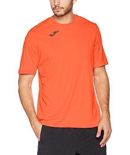 Joma Combi Camiseta Manga Corta, Hombre, Coral Fluor, XL