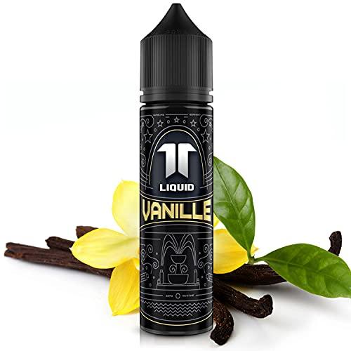 Elf-Liquid ® Vanille | 100% MADE IN GERMANY | Premium E Liquid ohne Nikotin für E Zigarette & E Shisha | 10ml E Liquid Vape Aroma in 60ml Flasche zum selber Mischen