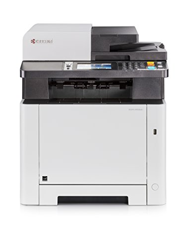 Kyocera Ecosys M5526cdn Impresora multifunción láser Color A4 | Impresora - Copiadora - Escáner - Fax | Soporte de Mobile Print para Smartphone y Tablet