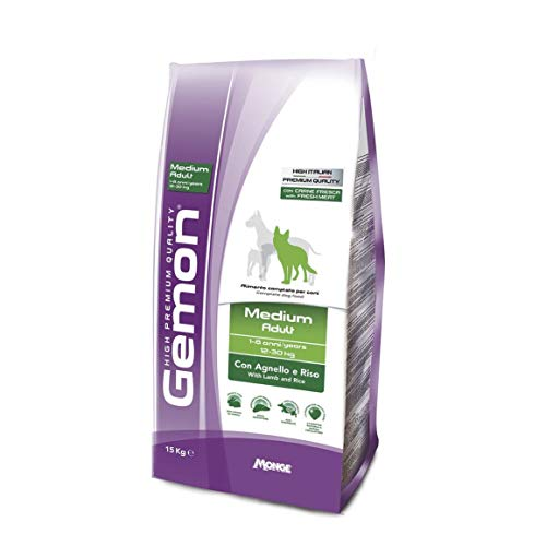 GEMON by Monge - MEDIUM ADULT Agnello e Riso 15 kilogram