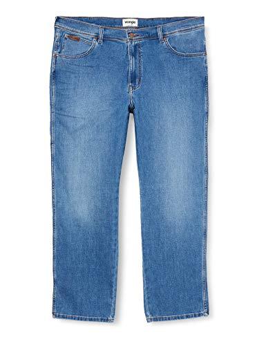 Wrangler Herren Texas Contrast' Jeans, Blau (Blazing Blue 72x), 38L / 32W