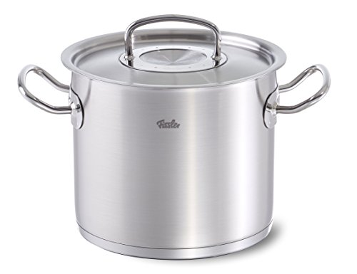 Fissler original-profi collection / Olla alta de acero inoxidable (14 litros, Ø...