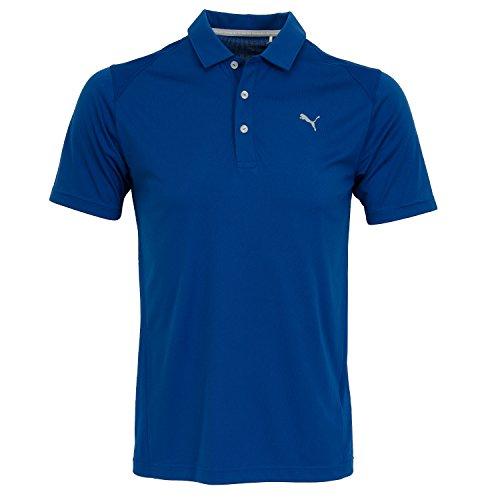 Puma Golf Hommes Essential Traquenard Drycell Polo - True...