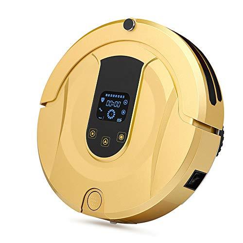 PRG Saugroboter Mit Wischfunktion Reinigt Alle Hartböden Und Teppiche, Leiser Roboterstaubsauger Automatischer Staubsauger Roboter Leistungsstarke Saugkraft, Automatische Aufladung für Tierhaare