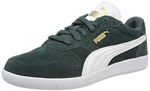 Puma Unisex-Erwachsene Icra Trainer SD Sneakers, Grün (Ponderosa Pine-Puma White-Puma Team Gold) , 37 EU