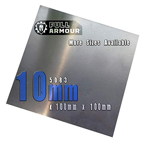 Placa de aluminio de 10 mm - 5083