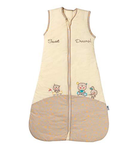 Schlummersack Babyschlafsack Vierjahreszeiten 2.5 Tog für Jungen und Mädchen - Sweet Dreams...