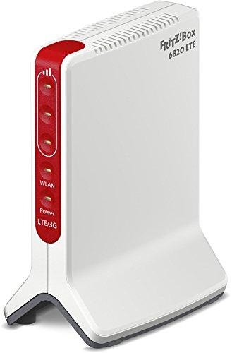 AVM FRITZ!Box 6820 (LTE (4G) bis 150 MBit/s, UMTS (3G) bis 42 MBit/s, WLAN N bis 450 MBit/s, 1 x Gigabit-LAN), deutschsprachige Version