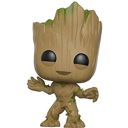 Funko Pop 13230, Personaggio Guardiani della Galassia Vol.2, Figura di Groot