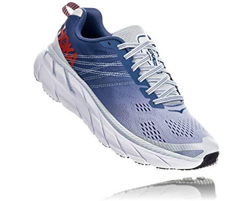 HOKA ONE ONE Clifton 6 Women's Running Shoes Plein Air/Moonlight Blue - 10
