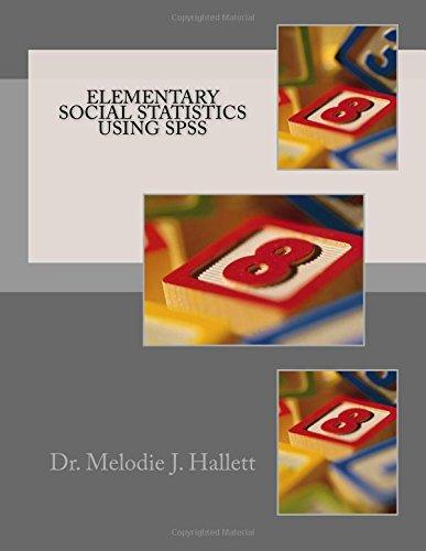 Elementary Social Statistics using SPSS