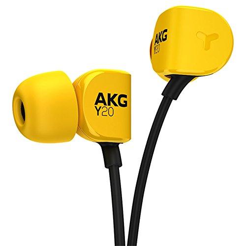 AKG Leichte In-Ear-Kopfhörer, Gelb (Y20UYEL)