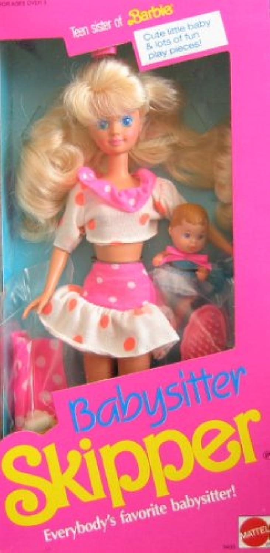 artículos novedosos Barbie Babysitter Babysitter Babysitter SKIPPER Doll (1990)  varios tamaños