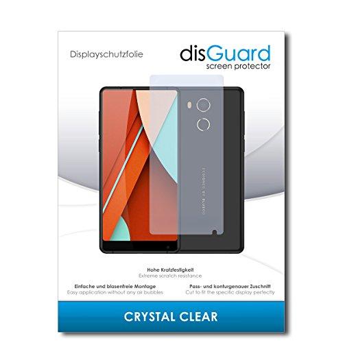 disGuard® Bildschirmschutzfolie [Crystal Clear] kompatibel mit Bluboo D5 Pro [4 Stück] Kristallklar, Transparent, Unsichtbar, Extrem Kratzfest, Anti-Fingerabdruck - Panzerglas Folie, Schutzfolie