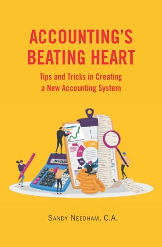 Compare Textbook Prices for Accounting's Beating Heart: Tips and Tricks in Creating a New Accounting System  ISBN 9798539822552 by Needham C.A., Sandy