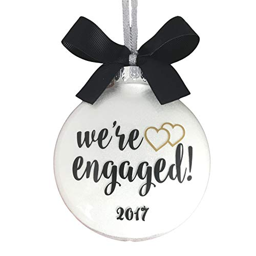 Gay Engagement Gifts For Men, Lesbian Engagement Gifts For Couples, Engaged Ornament 2020 Personalized