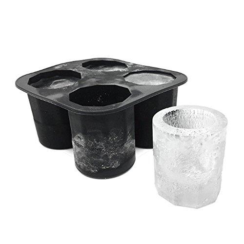 Fengchuang - Stampo in silicone per ghiaccio estivo, piccolo bicchiere per cubetti di ghiaccio, ideale per cucina, bar, feste, bevande