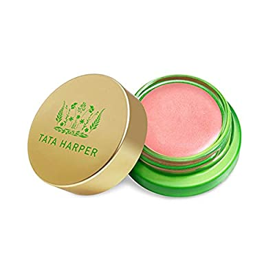 Tata Harper Volumizing Lip and Cheek Tint - Very Sweet, Shimmery Peach Anti-aging Neuropeptide Cream Blush, 100% Natural, Made Fresh in Vermont, 4.5 g