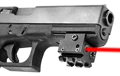 TRINITY Compact red dot Sight for Walther CCP Tactical Optics Home Defense Accessory Picatinny Weaver Mount Adapter Aluminum Black Class IIIA 635nM Less Than 5mW
