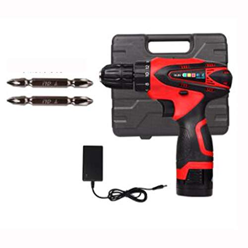 Lowest Price! 21v Industrial Grade Rechargeable Electric Drill Hand Drill Multi-function Electric Sc...