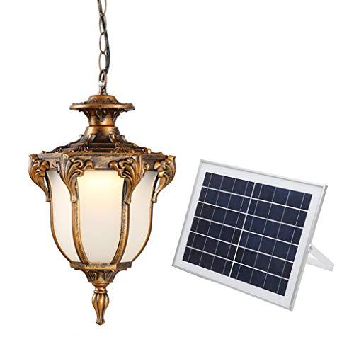 #Pendelleuchten Solar-Kronleuchter, wasserdichte Garden Grapevine Aisle Sun Room Split Außenbeleuchtung (Size : 26cm)