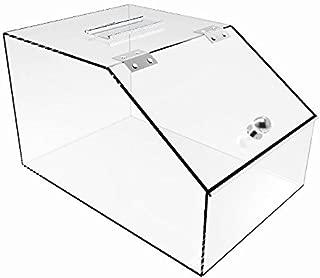 Pack of 8 Clear 12 Width x 6 Height Econoco HP//DB1206 Modular Dump Bin