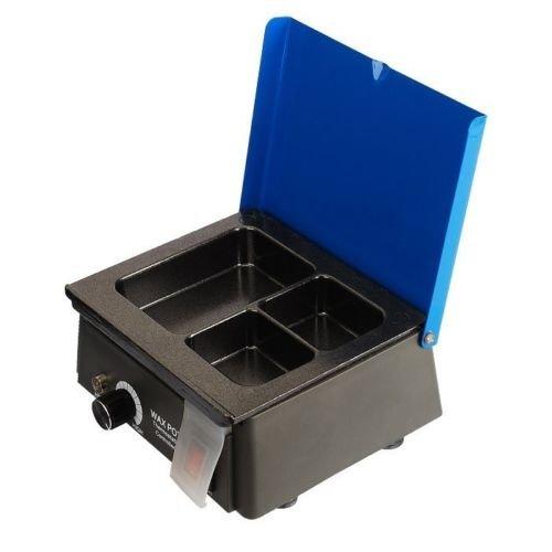 Laboratorio dental Calentador/fundidor de cera de 3 Pot