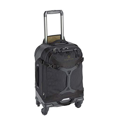 Eagle Creek Gear Warrior Carry Luggage Softside 4-Wheel Rolling Suitcase, Jet Black, 22 Inch