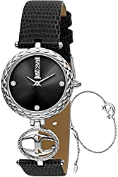 Black JC Mini Watch JC1L103L0015 - Leather Ladies Quartz Analogue