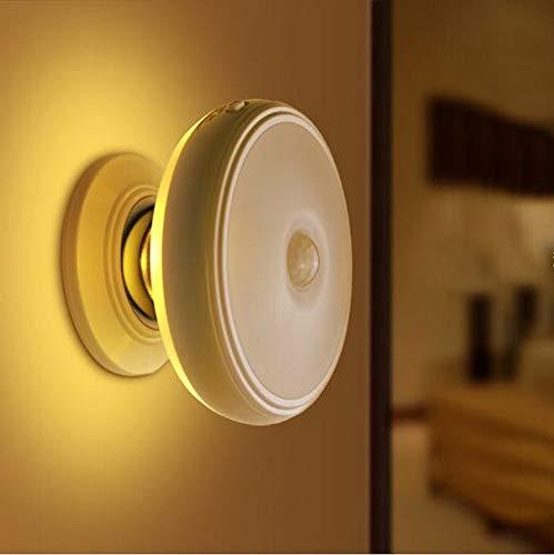 Capteur de Luz à LED USB de poche avec magnétoscope, isolé pour les lunettes, idéal pour les intérieurs, les armoires, les escales, B, blanc chaud