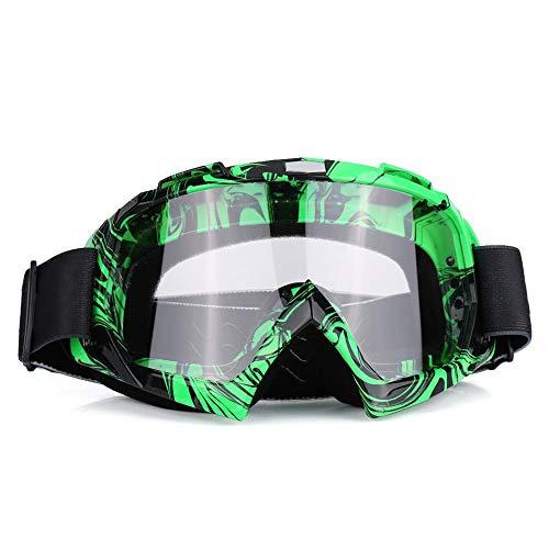 Gafas para motocicletas, Motocross de motos Off Road Dirt Bike Racing Gafas Gafas Protección de los ojos(#4)