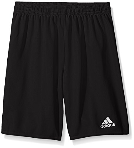 adidas Unisex-Child Parma 16 Shorts Black/White, Large