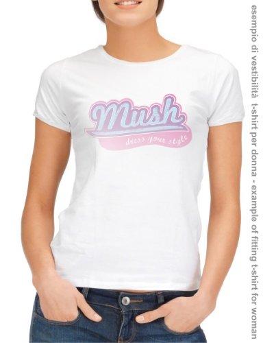 MUSH T-Shirt Stark Trono di Spade-Serie TV by Dress Your Style - Uomo-L-Antracite