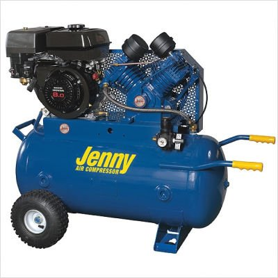 30 Gallon 11 HP Gas Engine Two Stage Wheeled Portable...