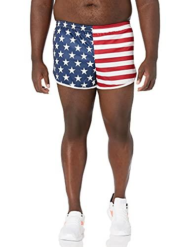 Soffe Men's Authentic Ranger Panty, Us Flag, Medium