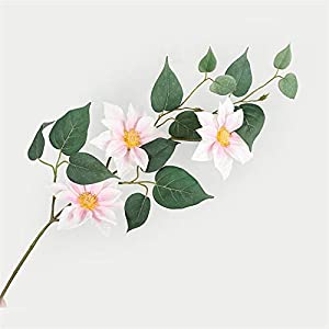 Artificial Flowers Lotus Long Branch with Fake Leaves White Artificial Silk Flowers Home Table Room Decor Party Wedding Decoration Flores Wedding Bouquets