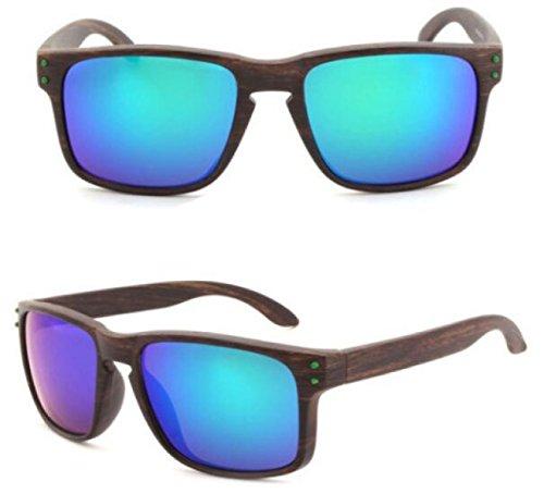 TianXY Outdoor Radfahren Reiten Angeln Sport Sportler UV-Schutz Sportbrillen Baseball-Brillen Polar Bewegung,E