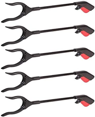 5 Pc Easy Reach Grab Grabber Pick Up Reaching 31 Tool Stick Extend Reacher Gift product image