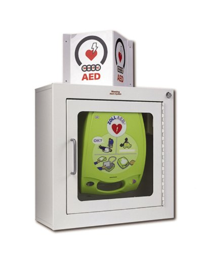 ZOLL AED Plus - Armario de pared con montaje en superficie