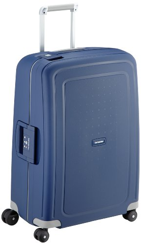 Samsonite S'Cure - Spinner M Koffer, 69 cm, 79 L, Blau (Dark Blue)