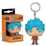 Llavero con diseño de anime Mangas Dragon Ball Z Top Bobbleheads Goku-Vegeta (azul sayan)...