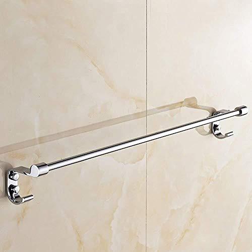 DNSJB - Toallero de acero inoxidable perforado, barra para baño, toallero, barra de baño (tamaño: 50 cm)