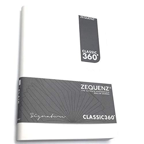 Zequenz Signature Lite 360 Notizbuch B6 Weiß Kariert