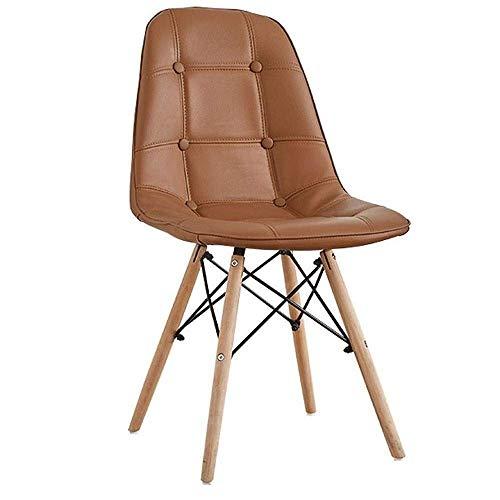 Living Decoration Stühle Esszimmerstuhl Studie Bürostuhl Rückenlehne kreative Moderne minimalistische Stuhl Esszimmerstuhl (Farbe: E)