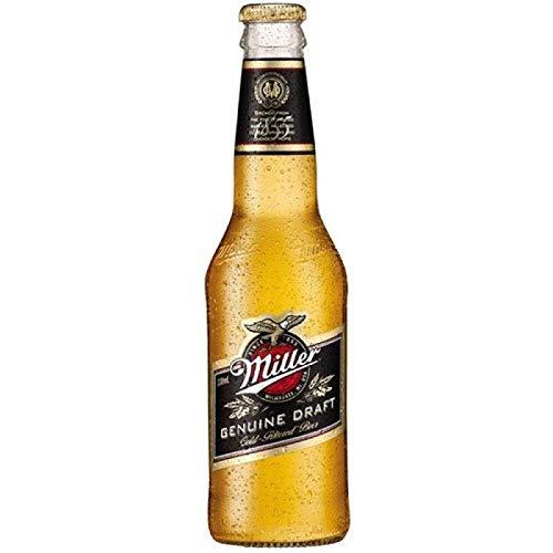 Miller Genuine Draft Cerveza Lager, 0.33L