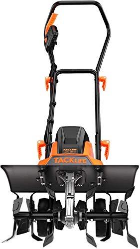 TACKLIFE Motoazada Eléctrica 1500W, 2 Anchos de Trabajo (6 Cuchillas: 45 cm / 4 Cuchillas : 32 cm), 20 cm Profundidad de Trabajo, Manija Fácilmente Plegada, 400 RPM Alta Eficiencia - TGTL01A