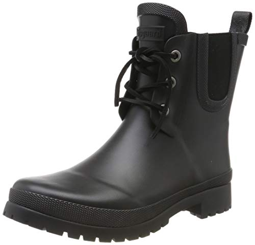 Bisgaard Unisex-Kinder Rubber Boot JUNIOR Gummistiefel, Schwarz (Black 50), 39 EU