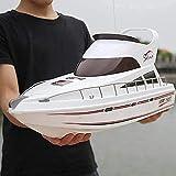 WANIYA1 70 cm Grandes Control Remoto Barcos niños Adultos RC Barco de Velocidad 2.4 GHz 4ch Escala...