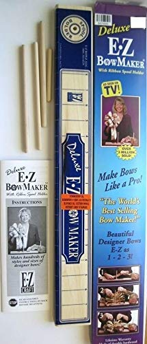 Delux EZ Bowmaker - Bow Making Tool - Craftng Bowmaker - Professional Designer Bow Maker